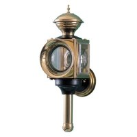 NAUTICAL COACH LAMP 1 BRASS УЛИЧНАЯ(Код.148816)